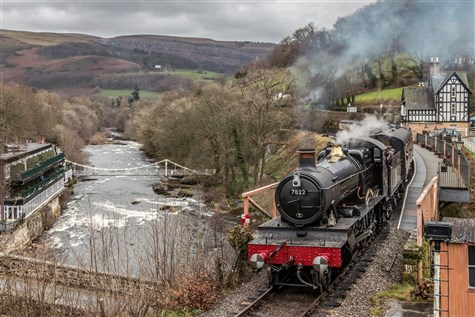 Llangollen Railway with Afternoon Tea